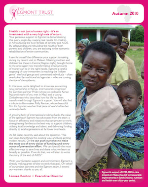 Autumn 2010 Newsletter