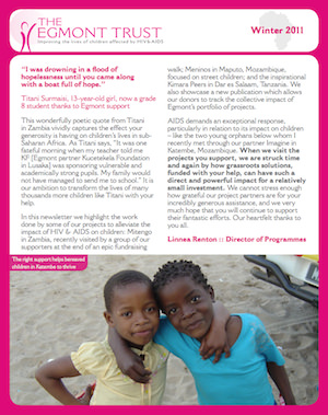 Winter 2011 Newsletter