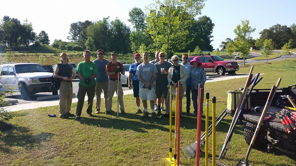 RAMBO Volunteers and Forsyth County Parks and Rec working to expand Haw Creek's trail system
