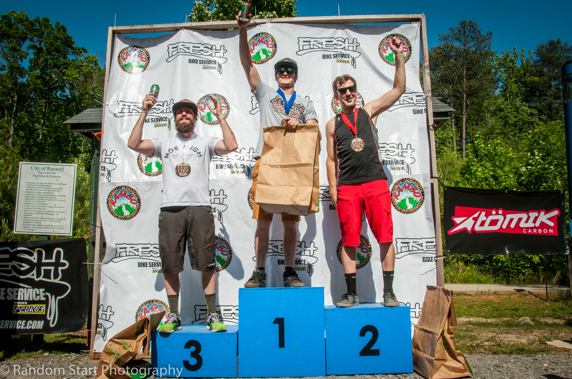 Expert Men Podium (Ben Hobbs, Chris Wyatt, Ross Monckton) - Photo: Random Start Photography