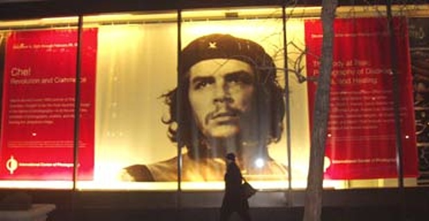 Star quality ... a poster for the V&A's Che Guevara exhibition PR