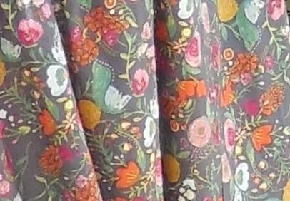 Anikka Becker Amaranth Blouson. Cotton Voile Print by Art Gallery Fabrics