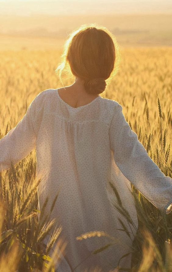 wheat field white dress chignon.jpg