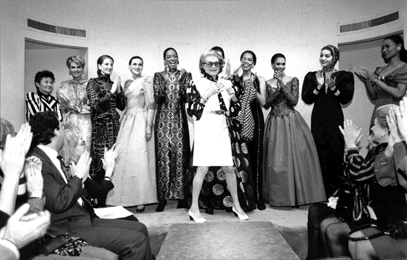 Pauline Trigere and Models. 1992