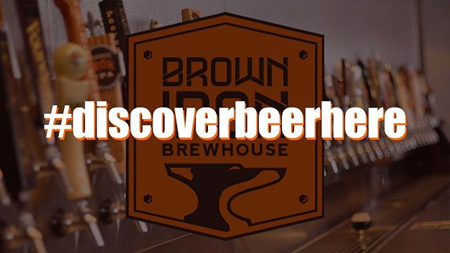 All new discover beer series starting tomorrow!  #discoverbeerhere at Brown Iron is all about sharing our love and knowledge of craft beer with our customers. This new series will feature a new beer on tap each and every day. We want to inform our customers about the beers we have, provide some facts about each one and hopefully allow you to discover a new favorite on tap! . . . . . #discoverbeerhere #brownironbrewhouse #newbeer #discoverbeerseries #craftbeers #craftbrewing