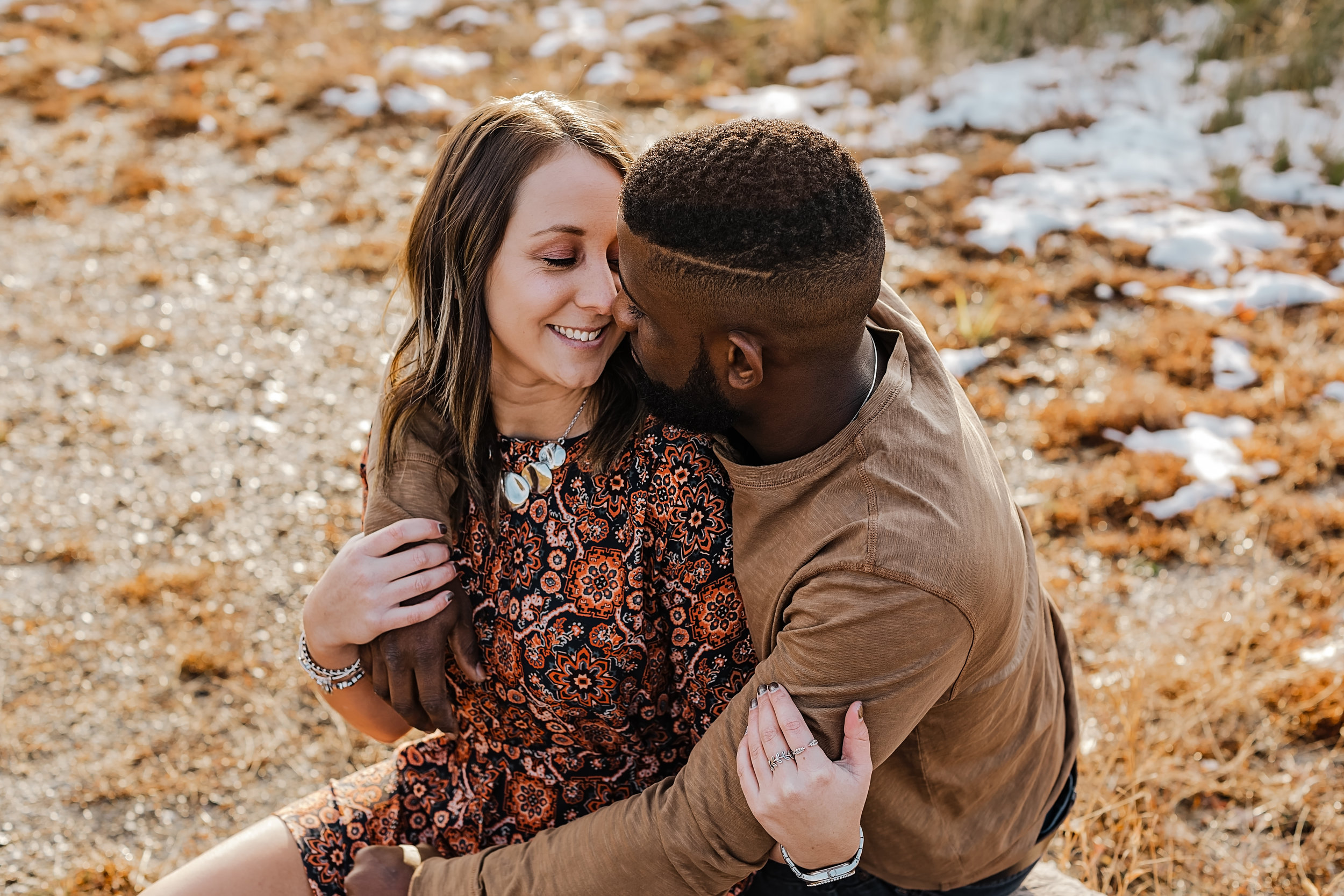 Taylor + Anthony - Couples session at a local state park