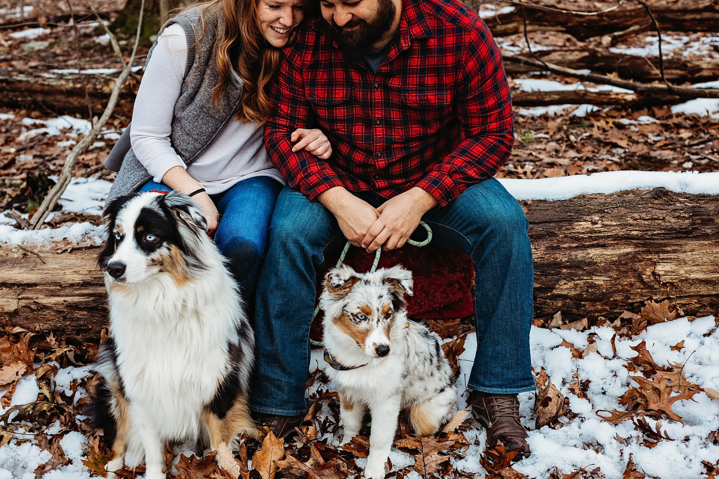 Dev+Kels+fur kids - Couples session with the kids