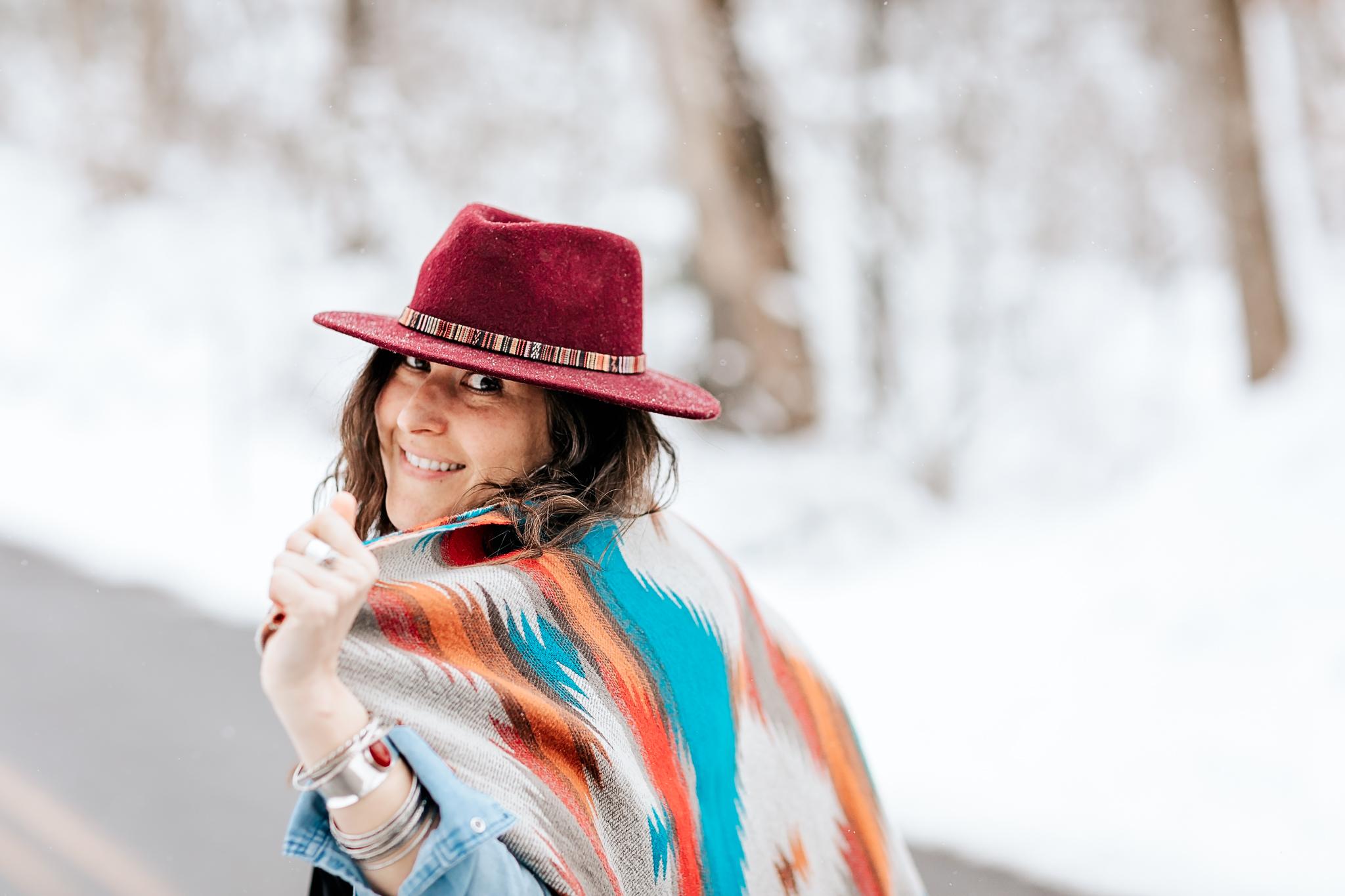 A snow day adventure w Miss L. -