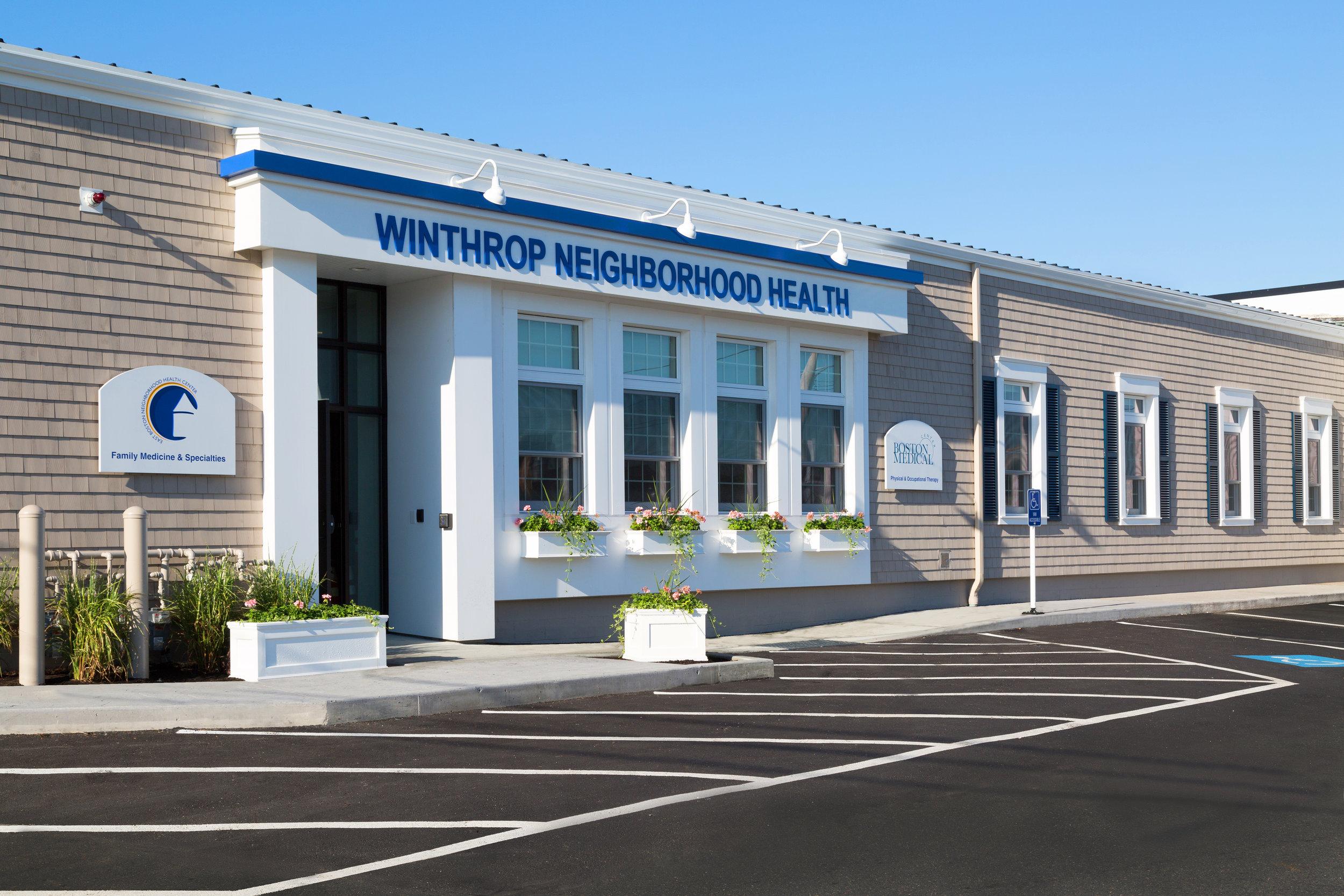 Winthrop Neighborhood Health     East Boston Neighborhood Health Center