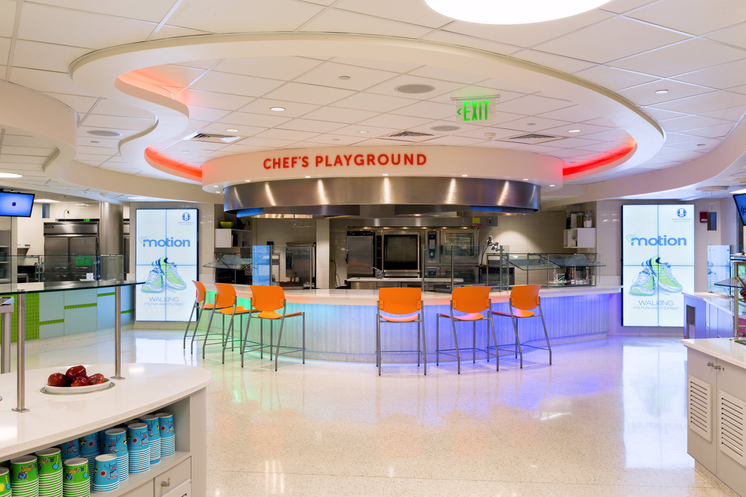 Food Court  Boston Children's Hospital