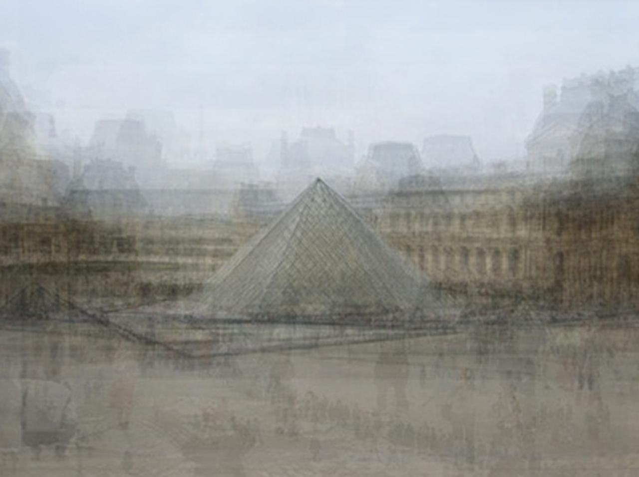 Louvre Pyramid, Paris by Corinne Vionnet