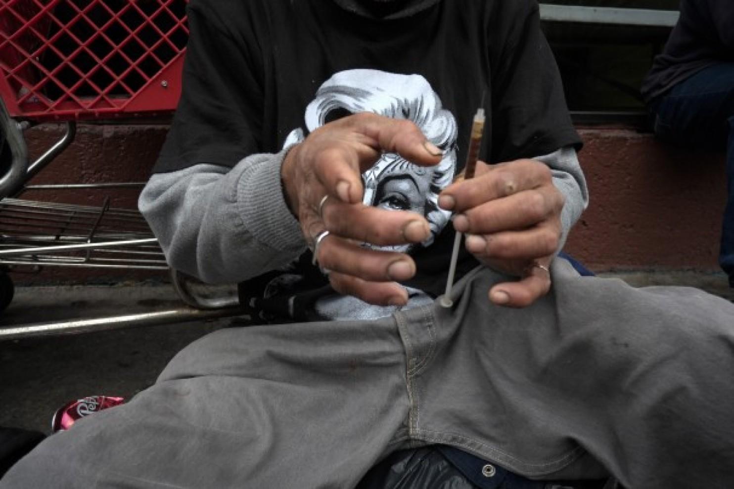 Skid Row, Los Angeles, 2013