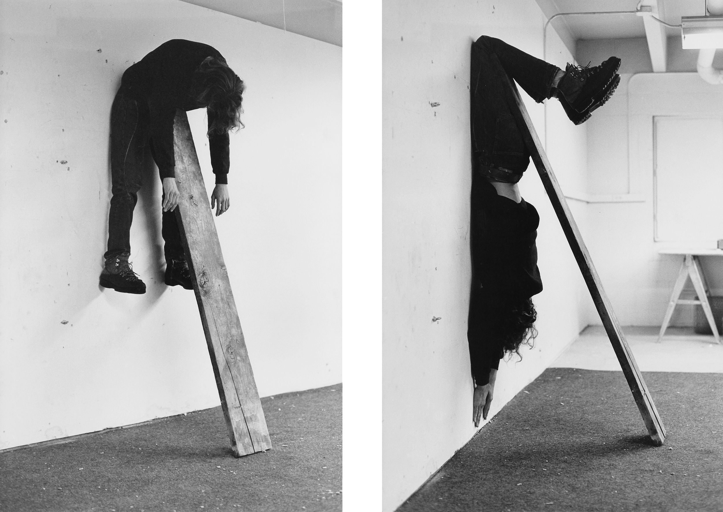 Charles Ray - Plank Piece I-II, 1973