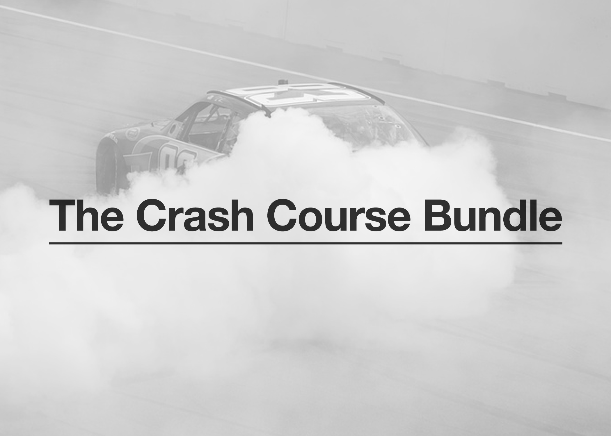 Any 3    Crash Courses   of your choice for just  $199