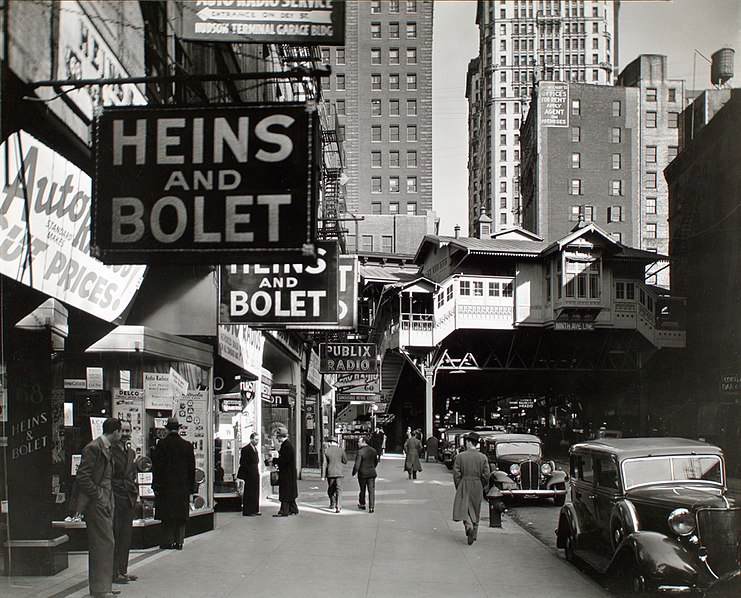 Berenice Abbott - Radio Row - from Changing New York (1936-38)