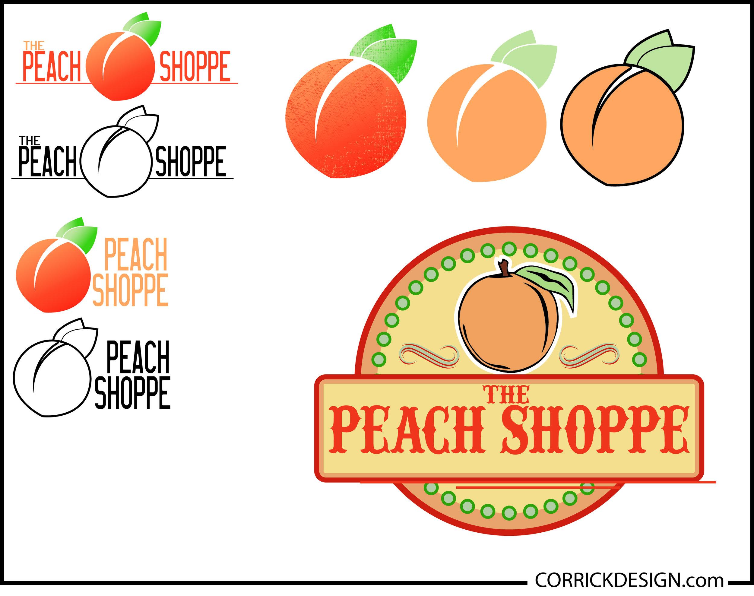 The Peach Shoppe Logo Sheet.jpg