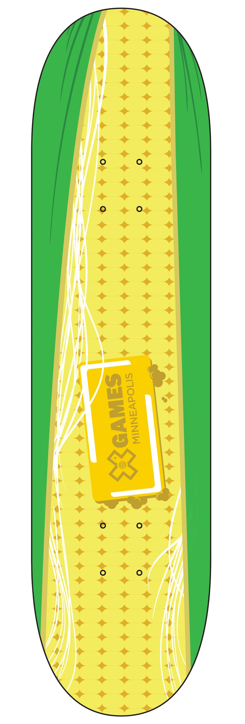 Unused Skateboard design for the X-Games