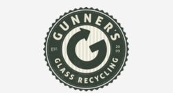 Gunner's Glass Recycling    For $9 per month, we will pick up the glass from your front porch twice each month. We deliver a small, gray bin with our G logo for you to use, and all you have to do is make sure it is on the front porch on the service day. It's very simple, and we can help keep the Earth clean  Email: together.service@gunnersrecycling.com
