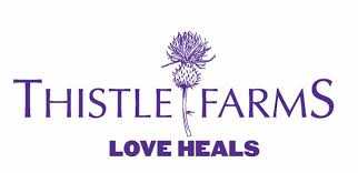 Thistle Farms   Thistle Farms's social enterprises employs residents and graduates of the residential program. They operate a natural bath and body product line, the Thistle Stop Cafe, the Studios Workshop and Thistle Farms Global Marketplace.  Phone: 615-298-1140 Email: info@thistlefarms.org