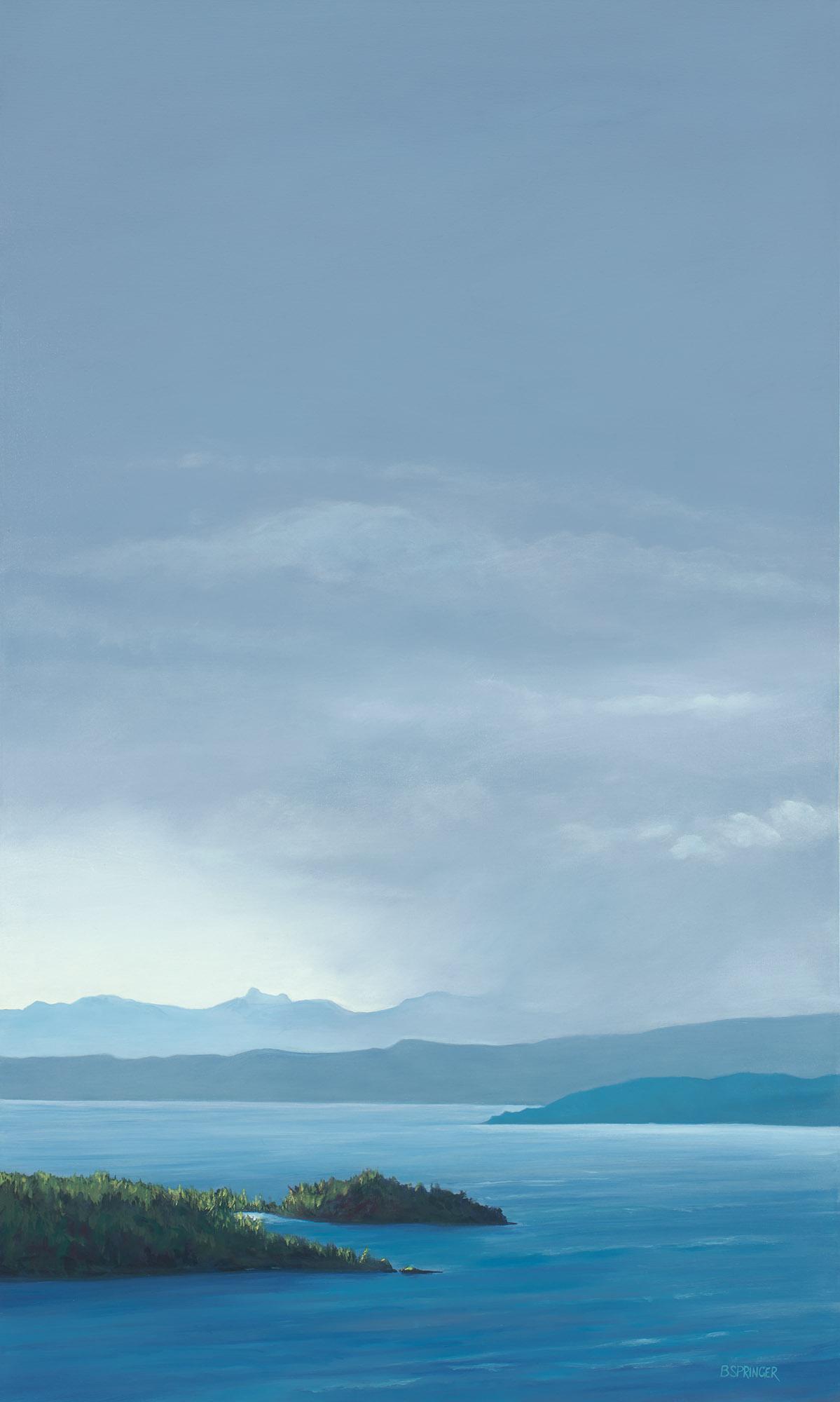 Storm Heading for Ladysmith 60 x 36 Acrylic