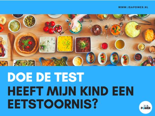 Test - Heeft mijn kind een eetstoornis? www.mijnkindheefteeneetstoornis.nl