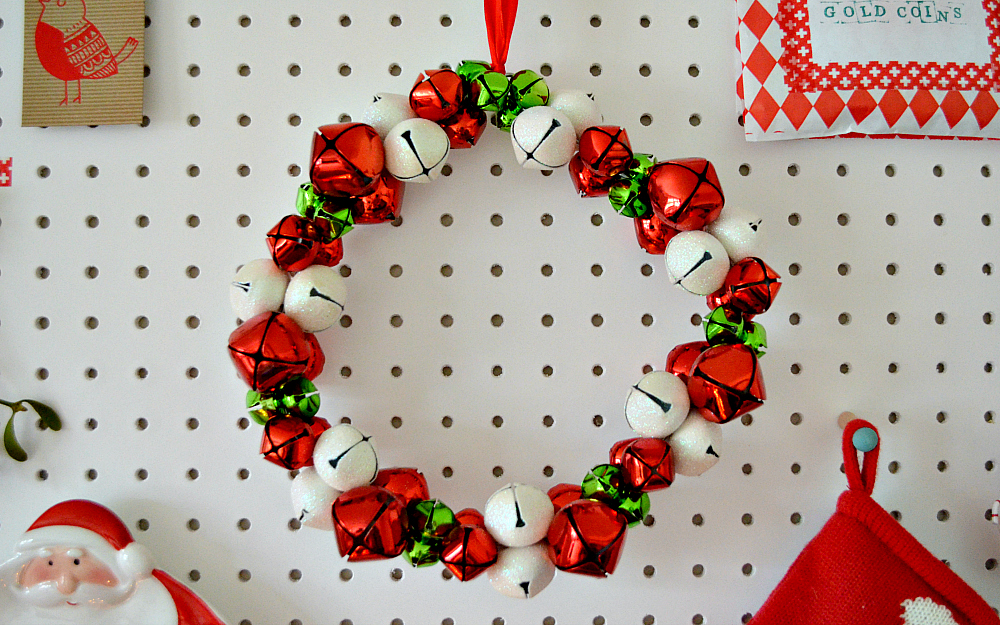 The Ordinary Lovely: Festive Pegboard Display