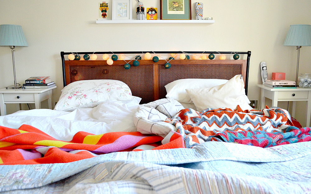 The Ordinary Lovely: Unmade bed