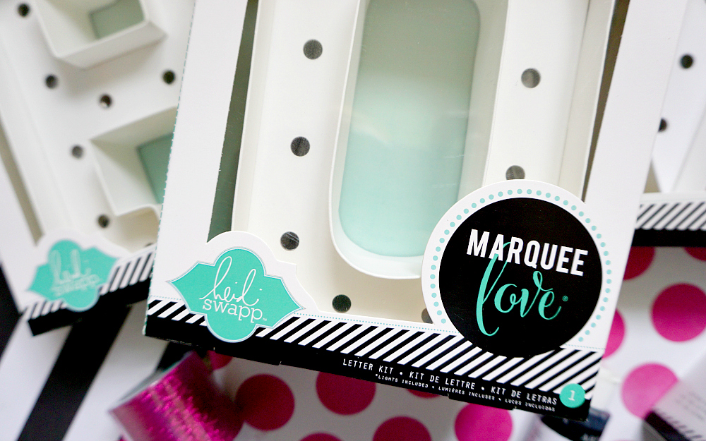 The Ordinary Lovely: Heidi Swapp Marquee Love Letters