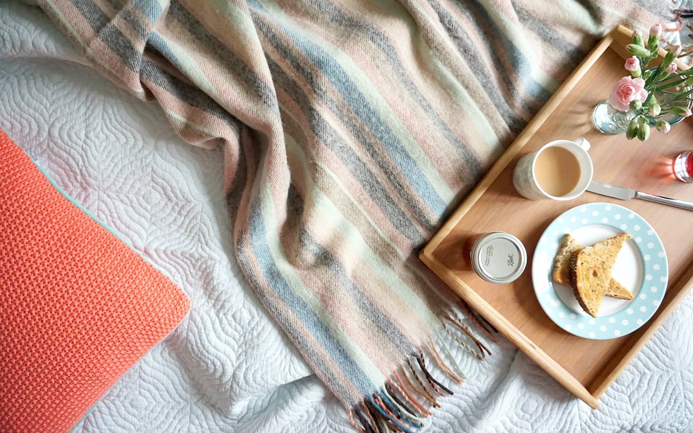 The Ordinary Lovely: Breakfast in bed with HomeSense