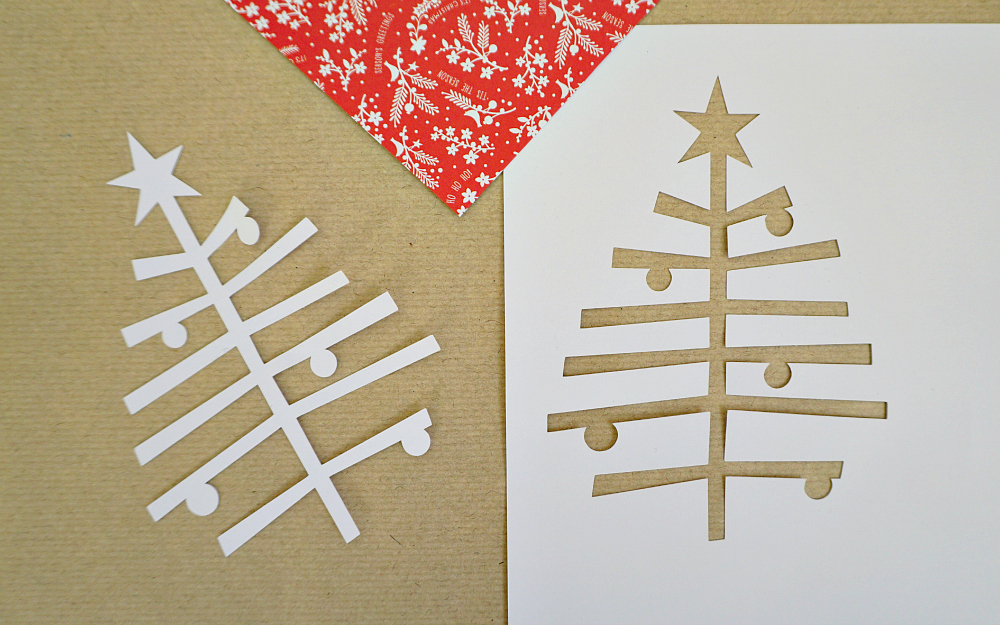 The Ordinary Lovely: Papercut Christmas gifts
