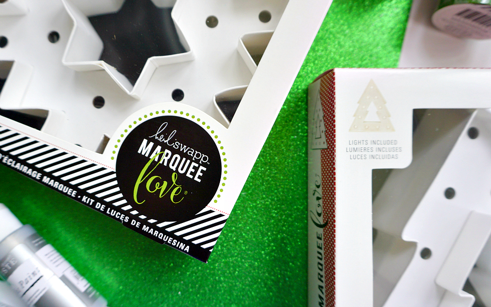 The Ordinary Lovely: Heidi Swapp Marquee Christmas Lights