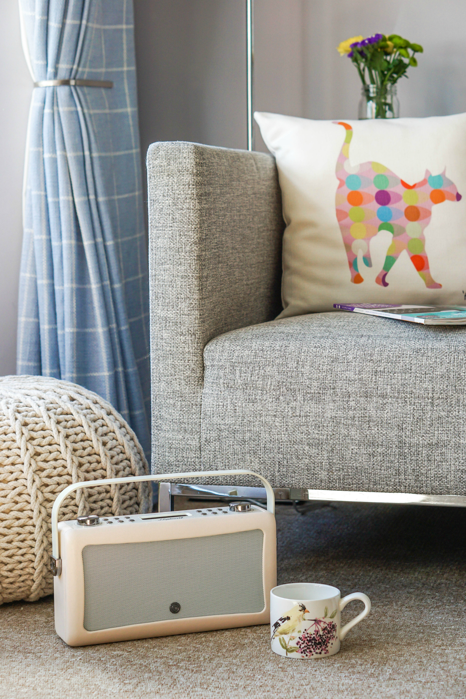 The Ordinary Lovely: Creating a cosy corner in the living room perfect for Autumn