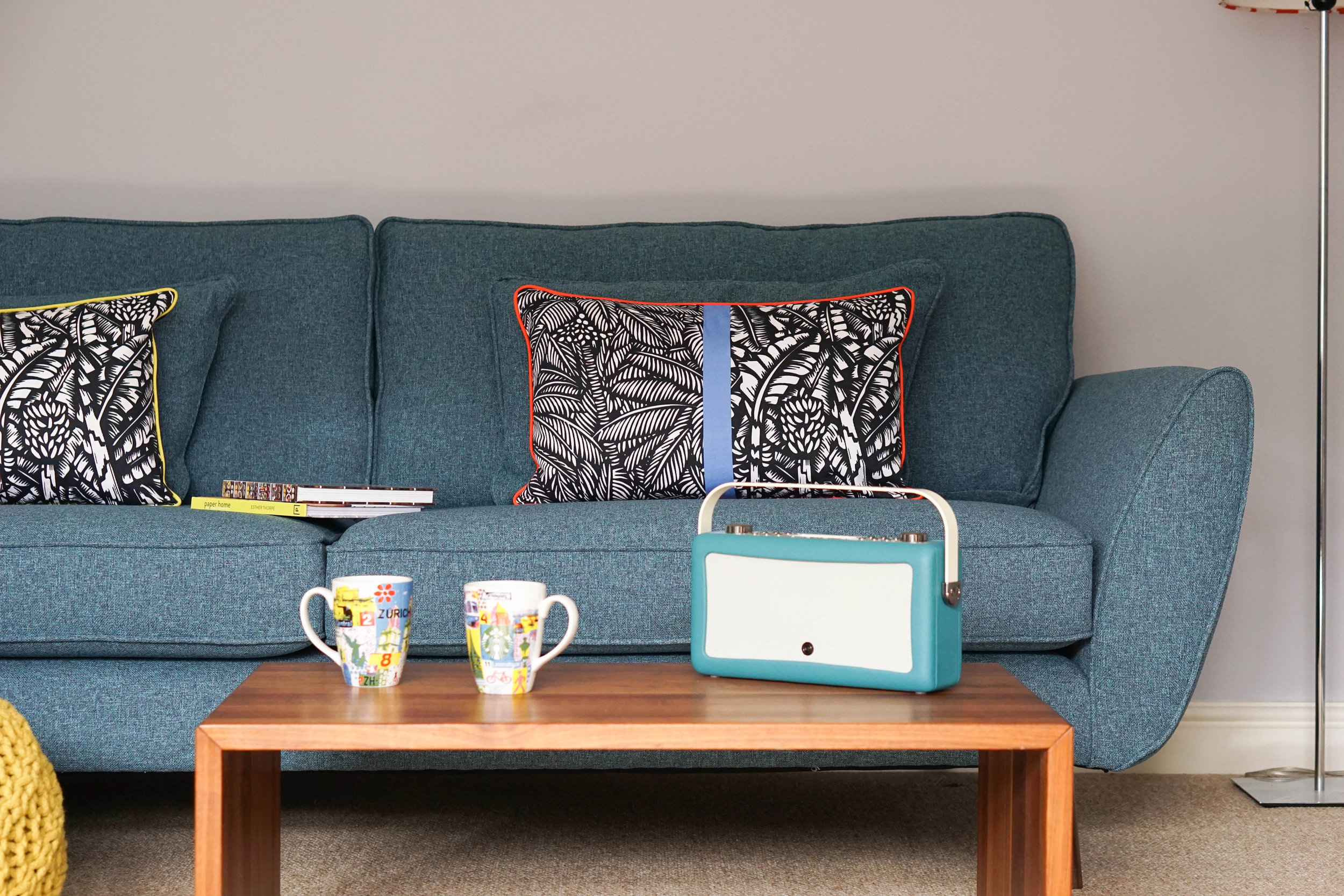 The Ordinary Lovely: A DFS sofa styling challenge #myDFS