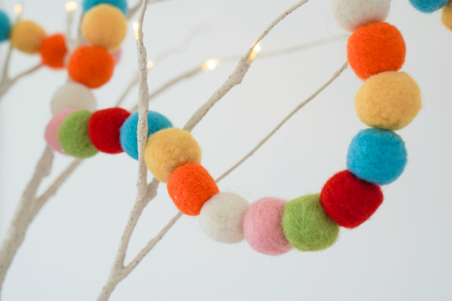 The Ordinary Lovely: Cute and colourful Christmas decorations