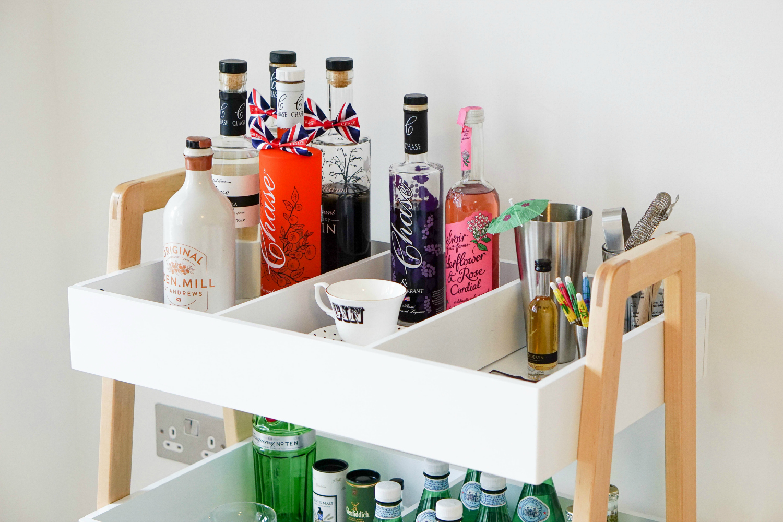 The Ordinary Lovely: A very modern bar cart