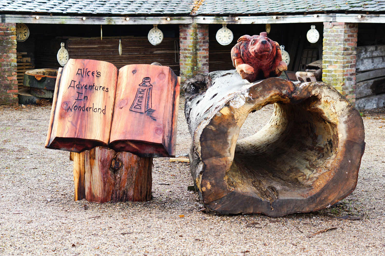 The Ordinary Lovely: Alice's Adventures in Wonderland at Erddig