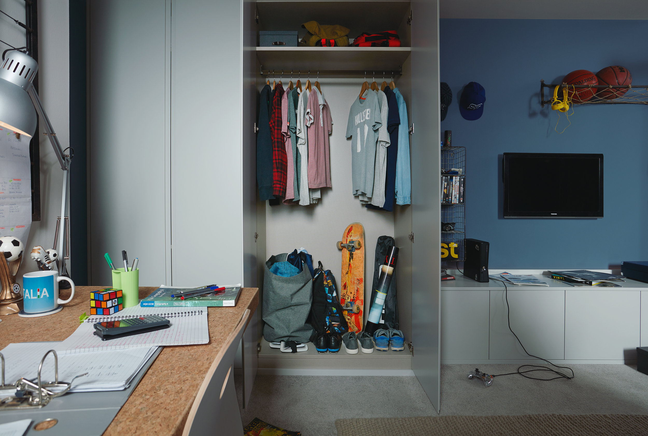 The perfect boys bedroom to transition from child to teen to adult