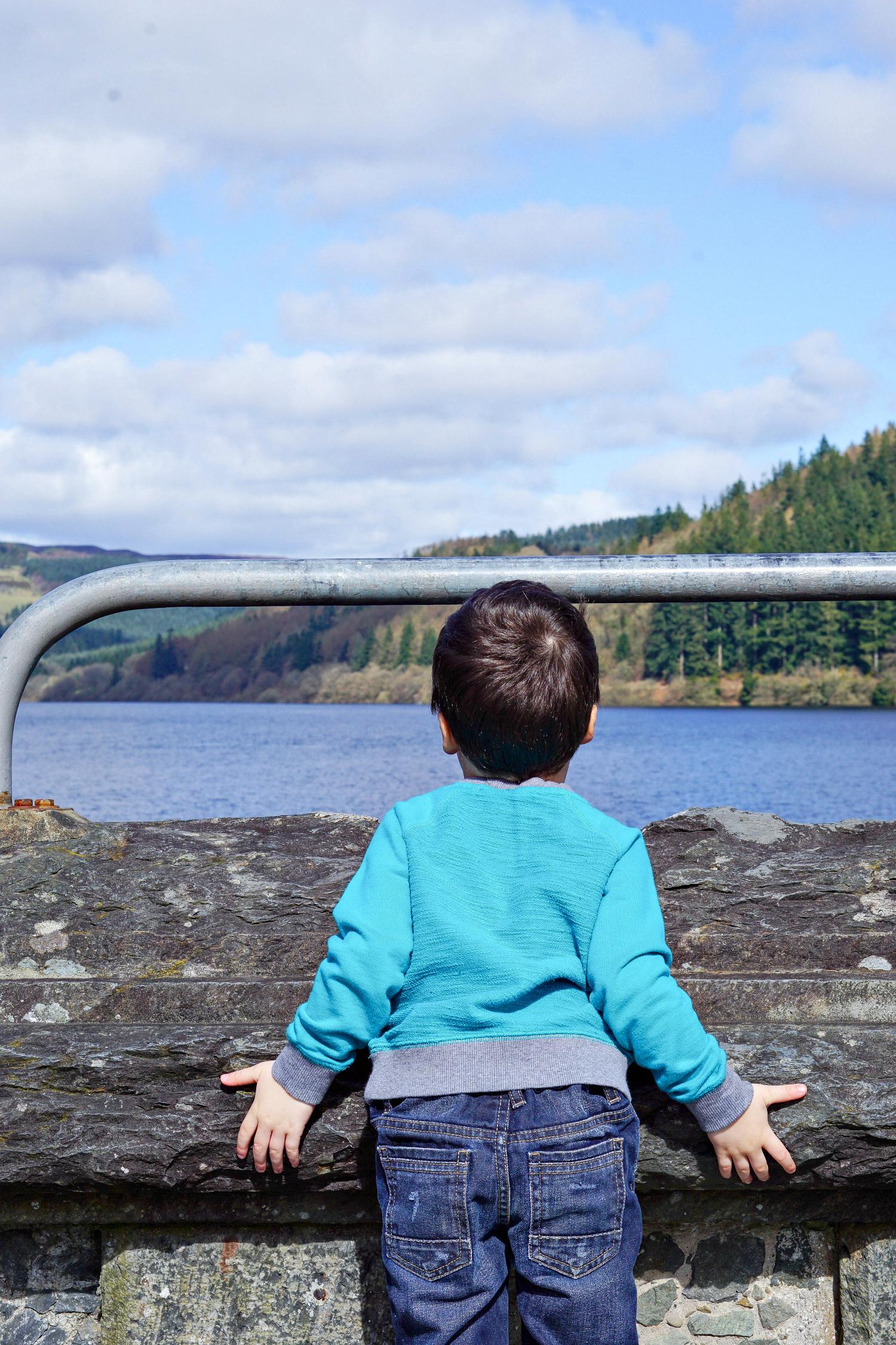 Fresh air and distraction at Lake Vyrnwy