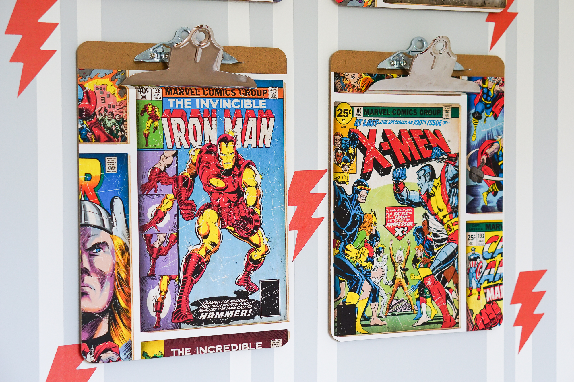 A super fast, super hero, mini children's bedroom makeover