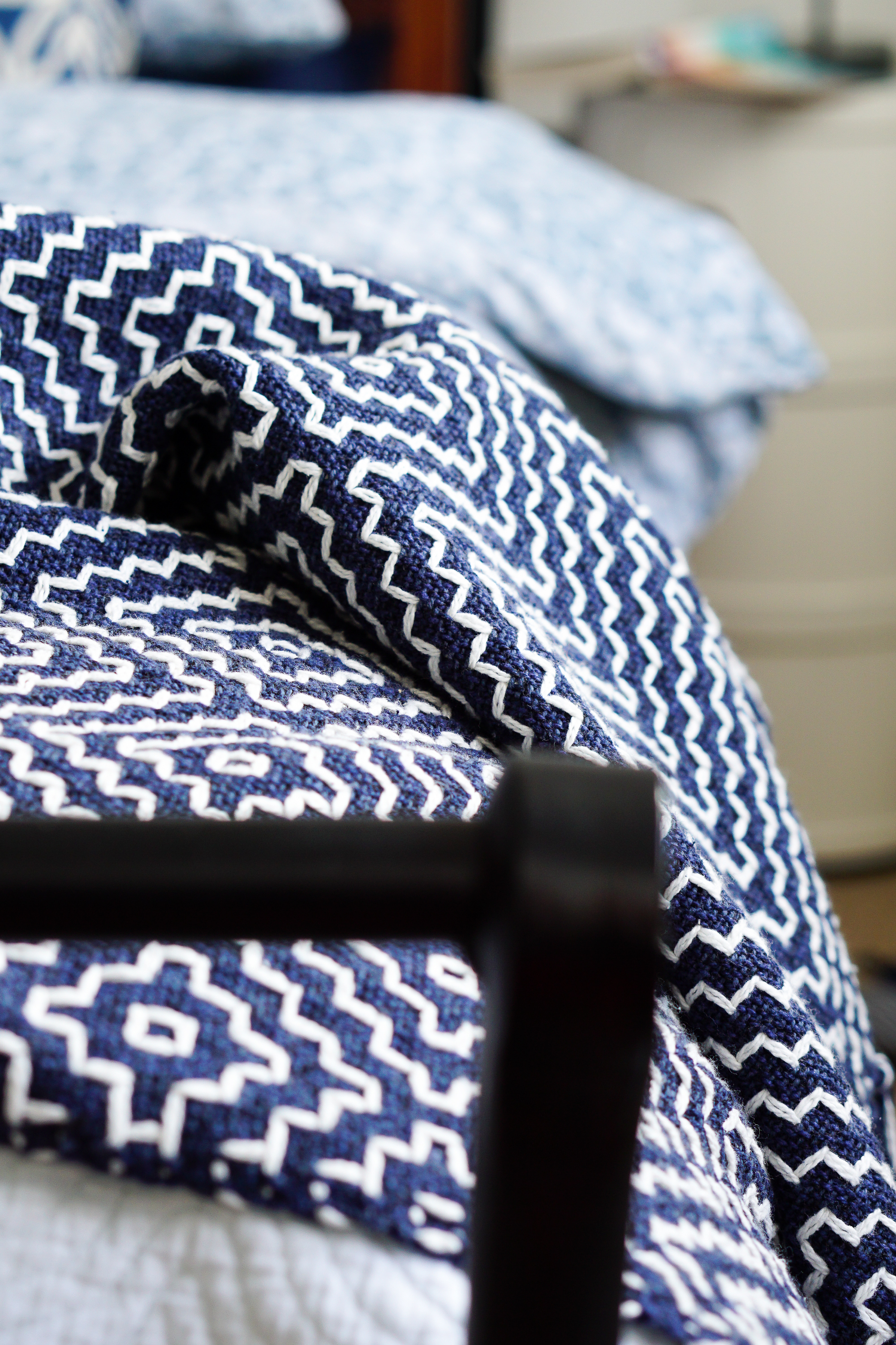 Another blanket? Just what we need! Yes, we do! And here are five ways to use it.