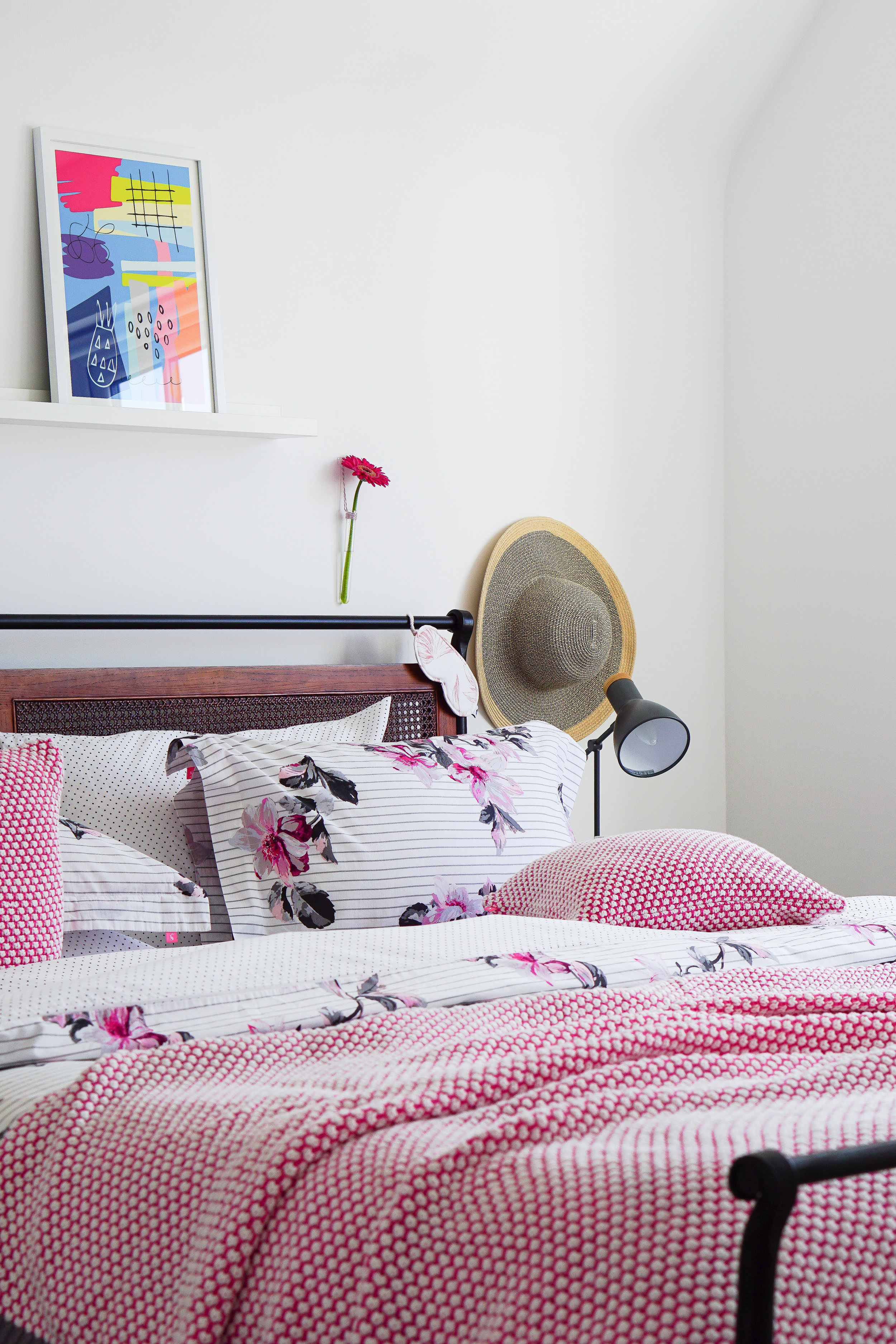 Make the most of the summer months with a pretty bedroom refresh