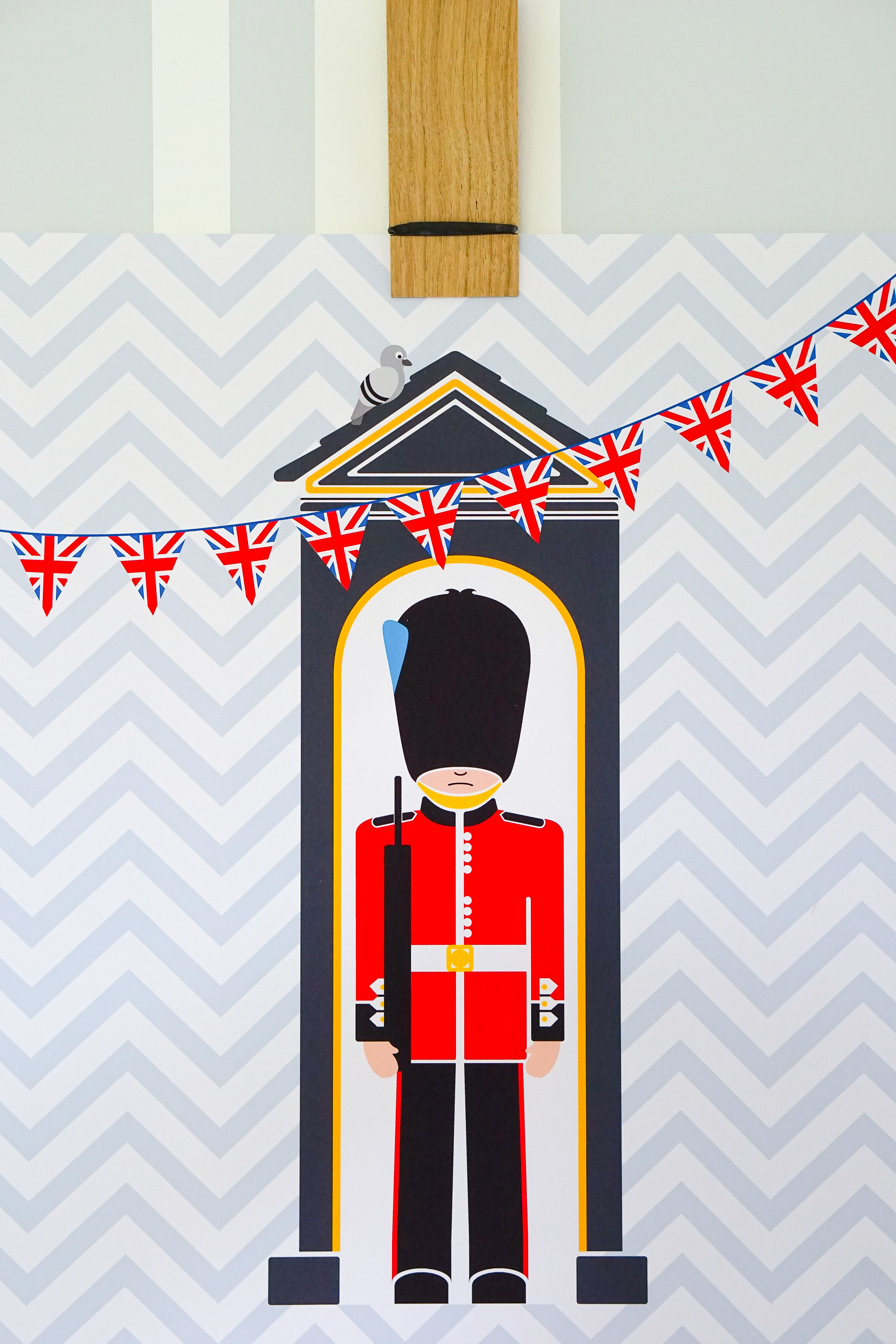 Two simple 'no nails' ways to hang children's wall art