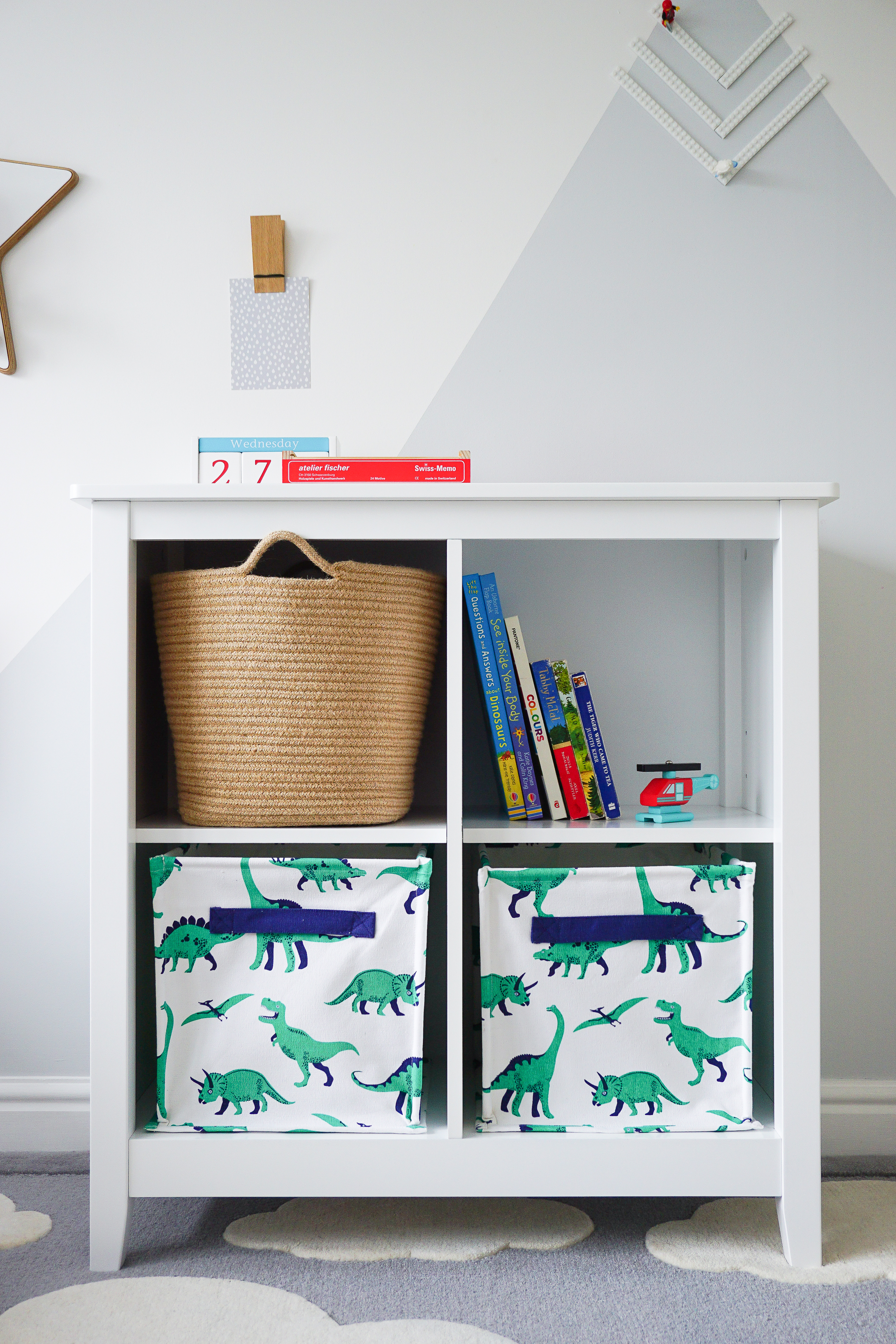 Meet Bramley: bookcase or bedside table?