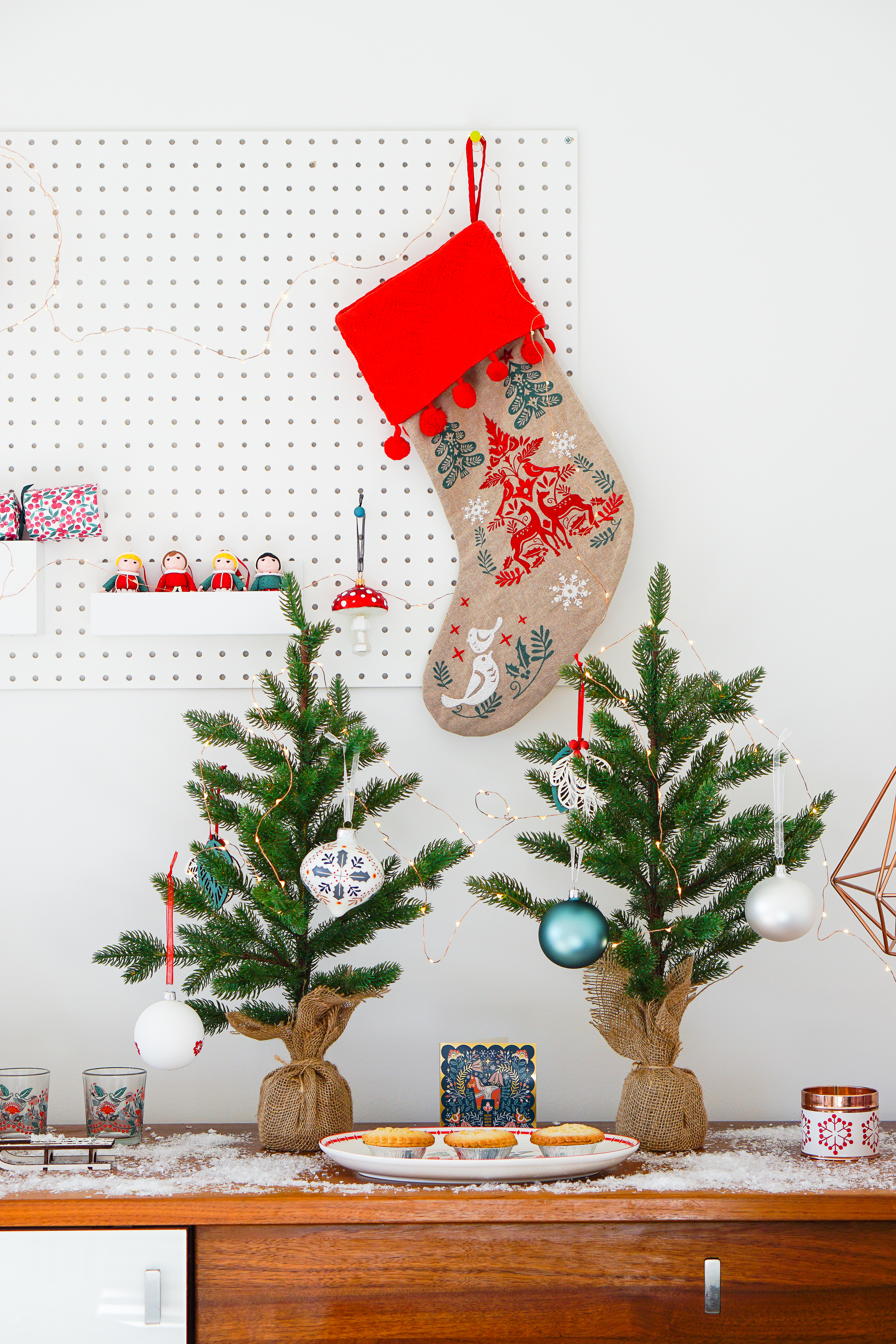 How to do a 'country' Christmas when grey and beige are not for you