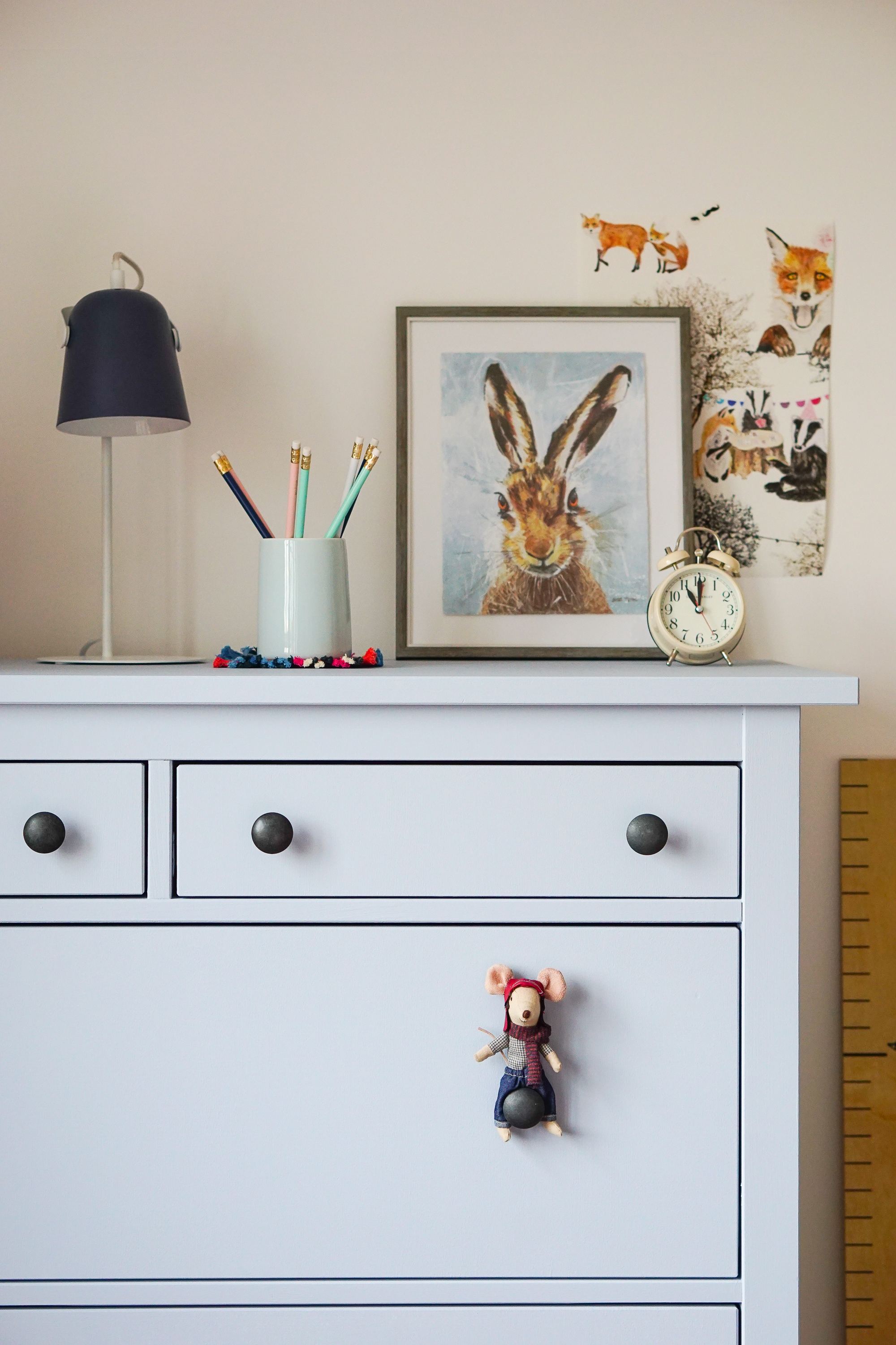 Woodland themed children's bedroom