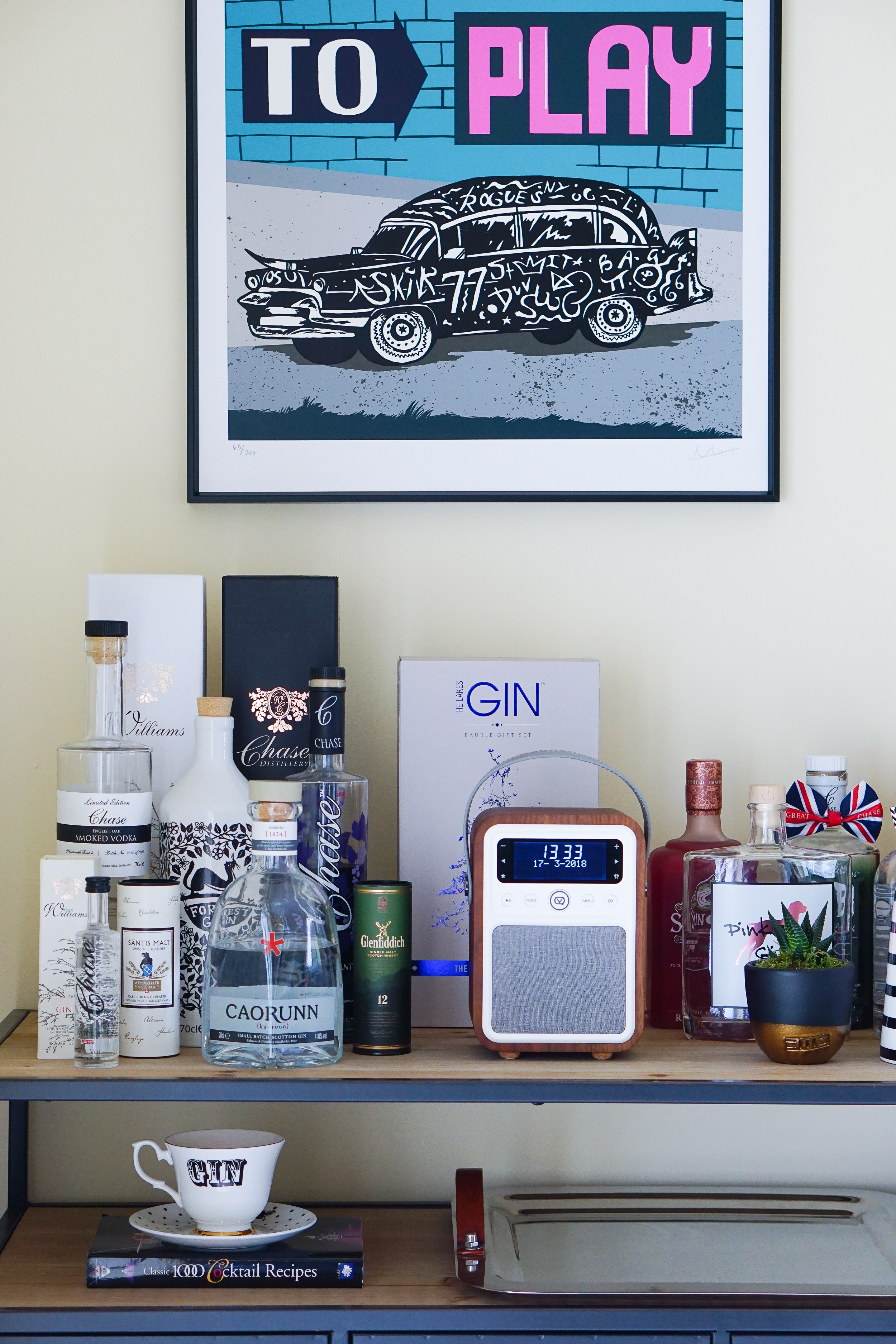 Welcome to my Gin Bar