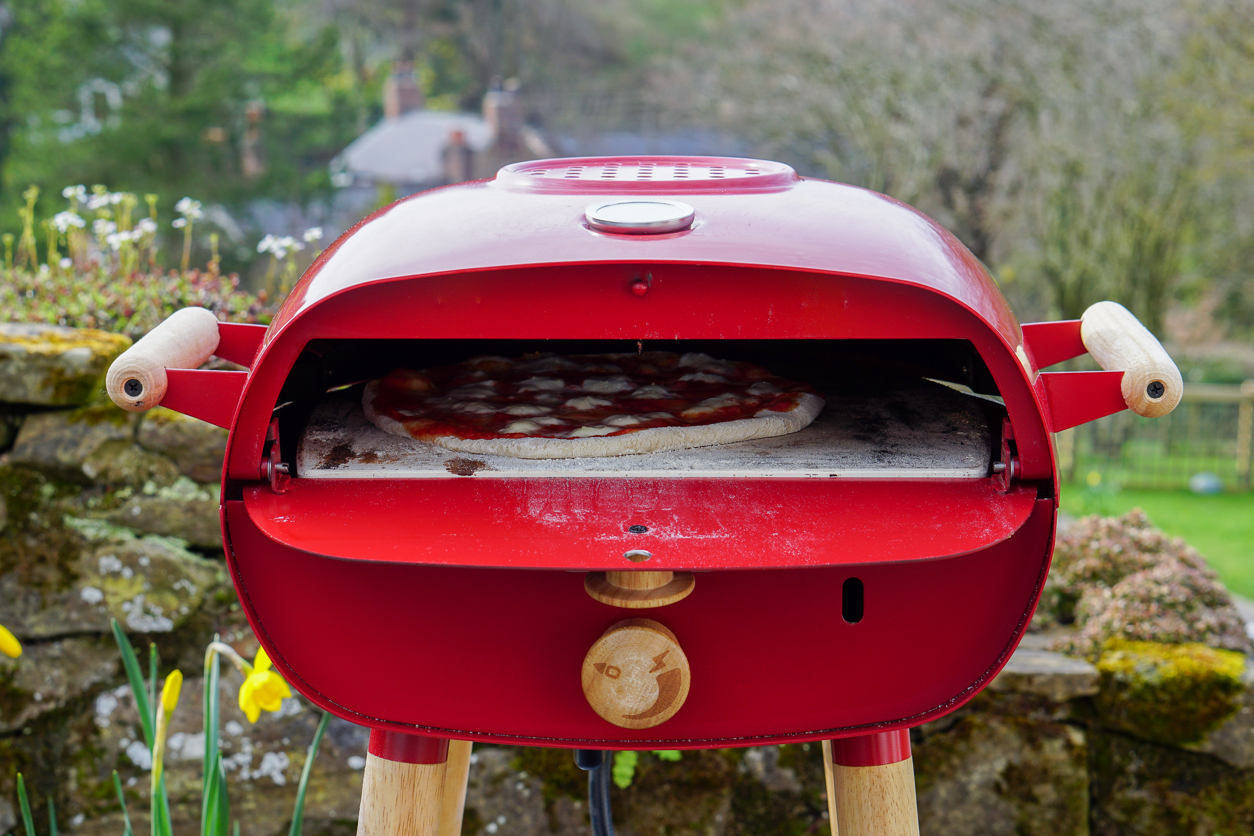 The Firepod ... bringing a touch of Naples to North Wales