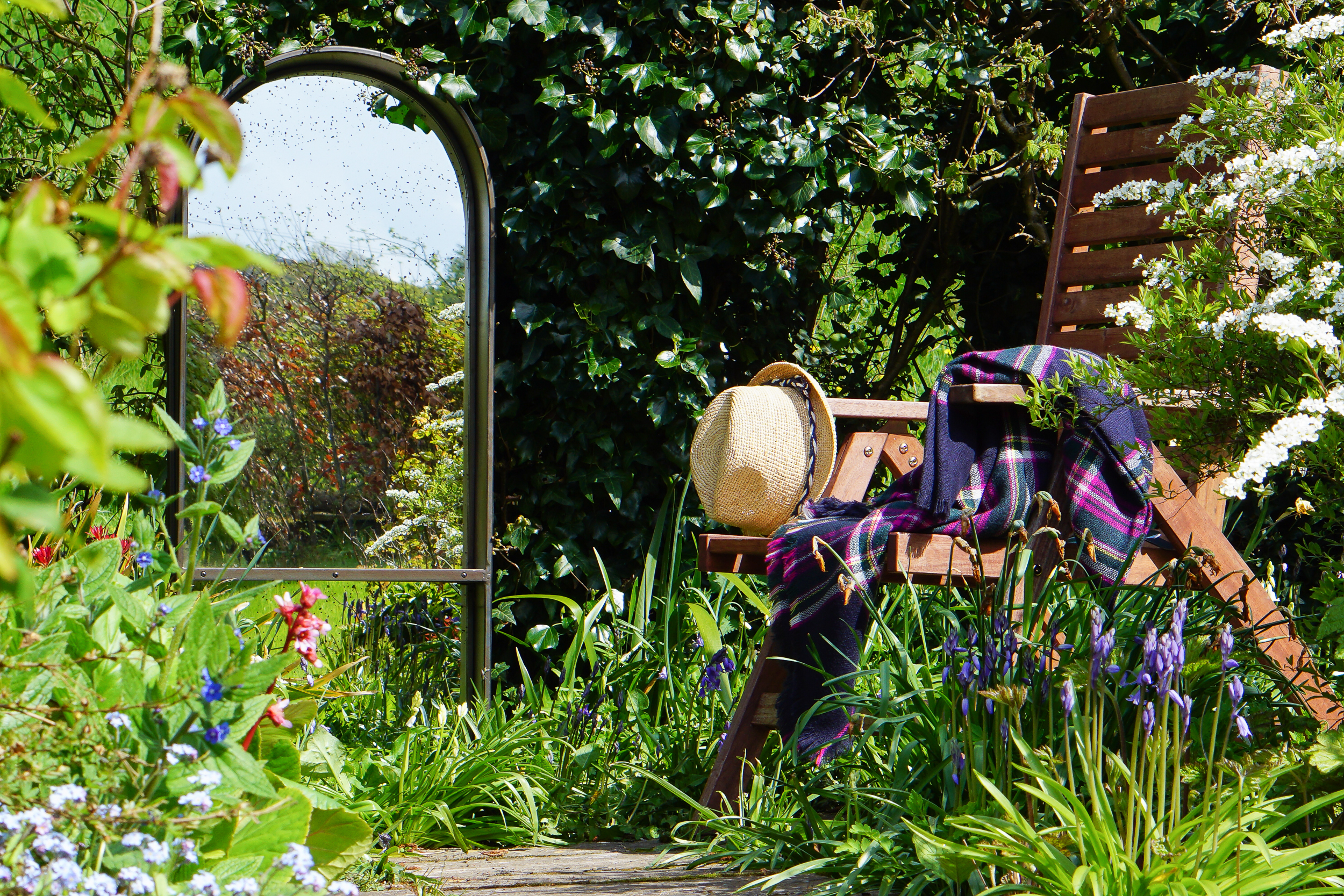 A British Country Garden
