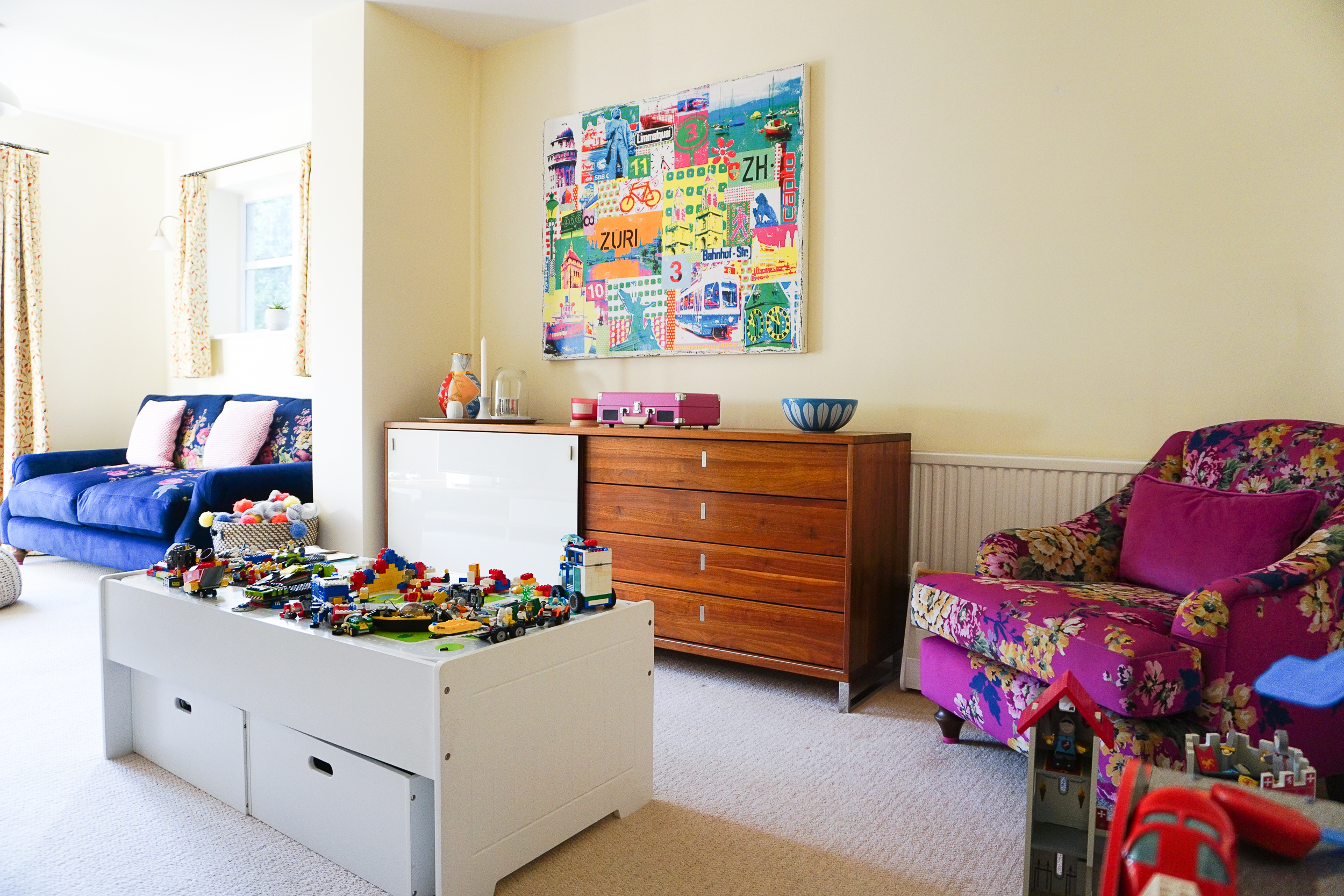 Choosing parquet flooring for the playroom with Woodpecker