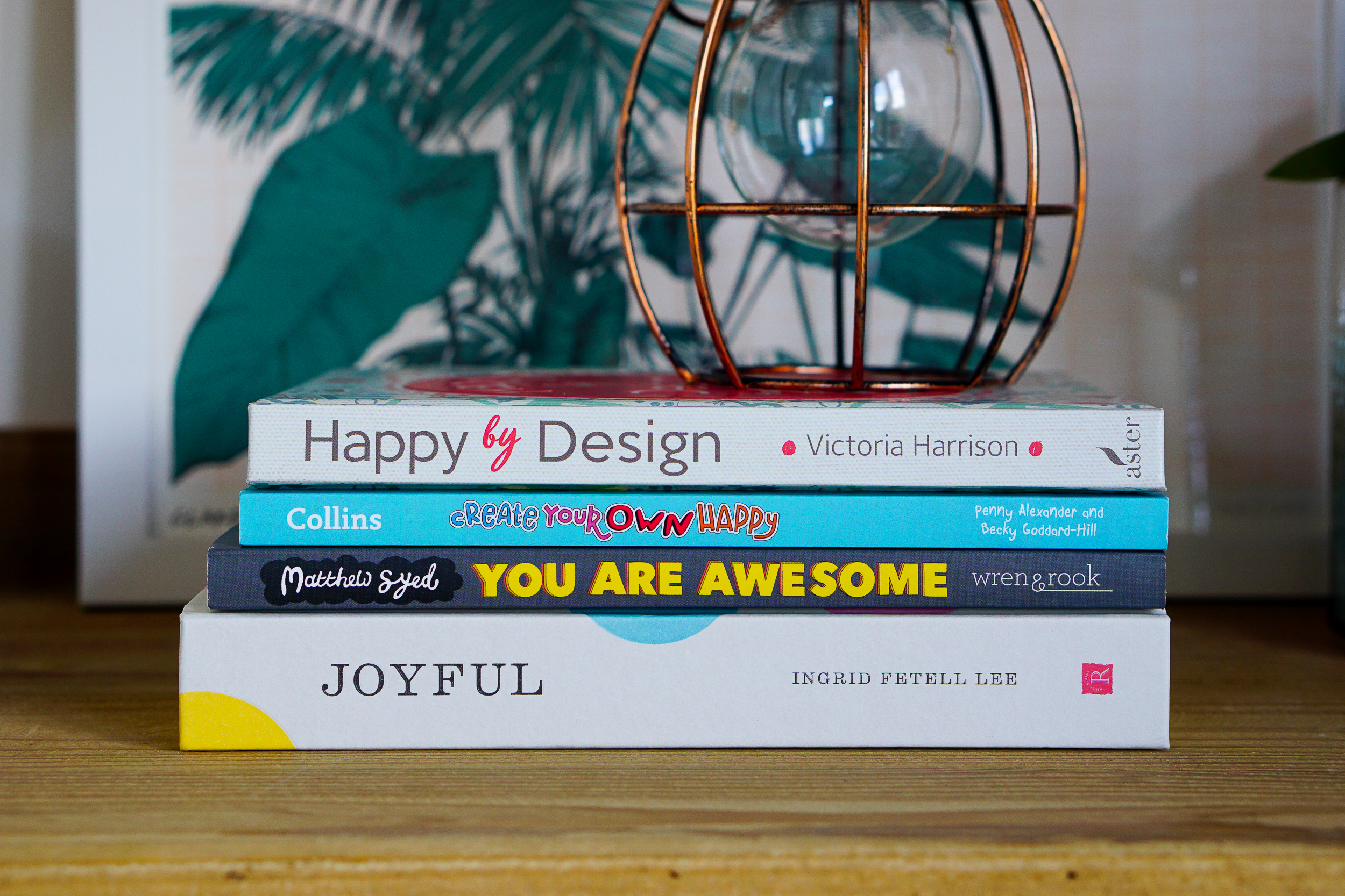 Four books to fill you, your family and your home with joy